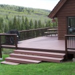 Deck in Spring