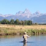 Fishing on the Teton River